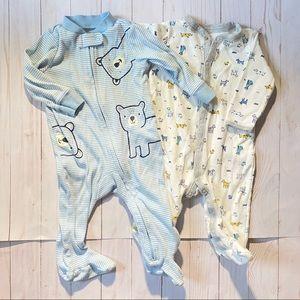 🌟3/$15🌟Carter's Footed Pajamas